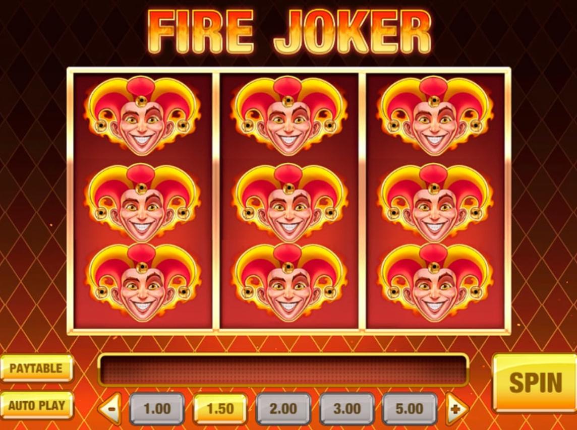 Обзор игрового автомата Fire Joker