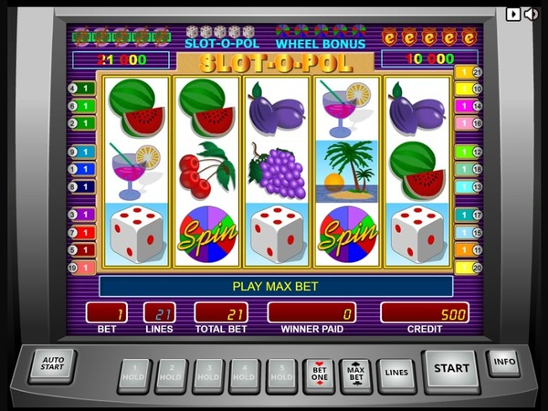 Игровой автомат Ешки интерфейс