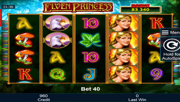 Обзор игрового автомата Elven Princesses